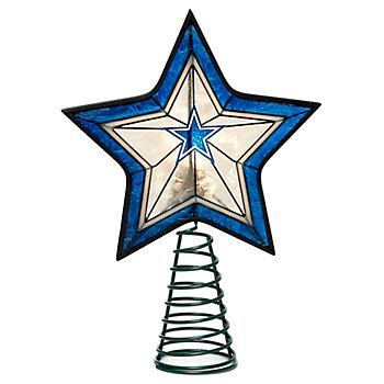 Dallas Cowboys Star Tree Topper