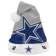 Dallas Cowboys Santa Hat