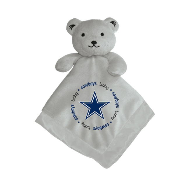 Dallas Cowboys Grey Security Bear Blanket