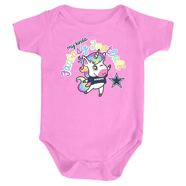 Dallas Cowboys Infant Brynlee Romper