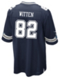 Dallas Cowboys Jason Witten #82 Commemorative Patch Nike Navy Game Replica Jersey