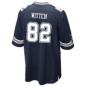 Dallas Cowboys Jason Witten #82 Commemorative Patch Nike Navy Game Replica Jersey