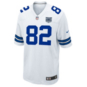 Dallas Cowboys Jason Witten #82 Commemorative Patch Nike White Game Replica Jersey