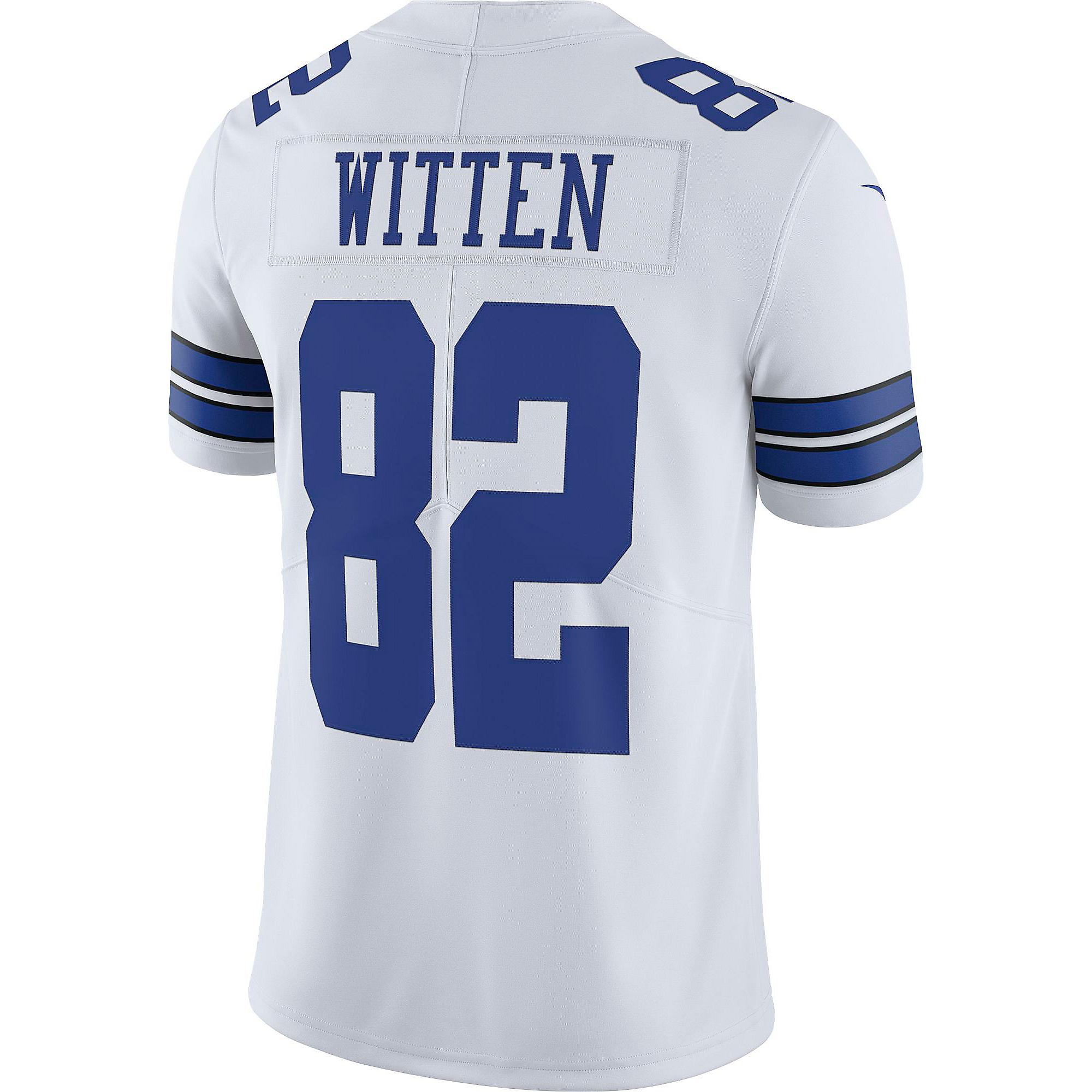 sports shoes cf7b9 d4ef4 Dallas Cowboys Jason Witten #82 Commemorative Patch Nike ...