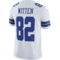 Dallas Cowboys Jason Witten #82 Commemorative Patch Nike White Vapor Limited Jersey