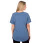 Dallas Cowboys Mitchell & Ness Womens Gradient V-Neck Tee