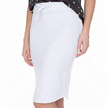 Sundry Dip Hem Skirt
