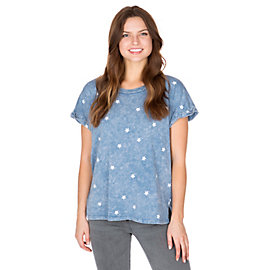 Studio Blank Paige Star Short Sleeve Tee