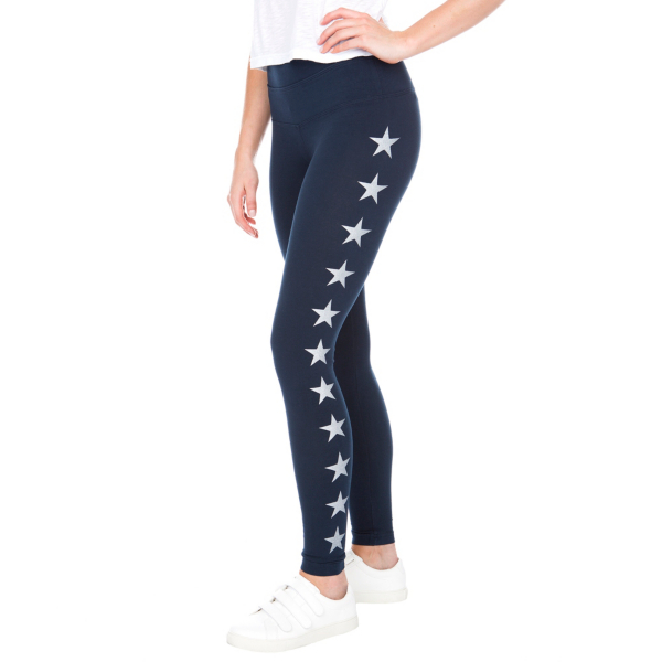 Studio Hard Tail Forever Navy High Rise Star Legging