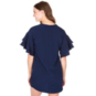 Studio BLVD Navy Ruffle Dress