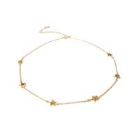Studio Marlyn Schiff Gold Star Necklace