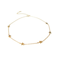 Studio Marlyn Schiff Gold Star Necklace