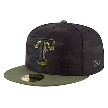 Texas Rangers New Era Memorial Day 59Fifty Cap