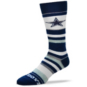Dallas Cowboys Sleep Soft Stripe Socks