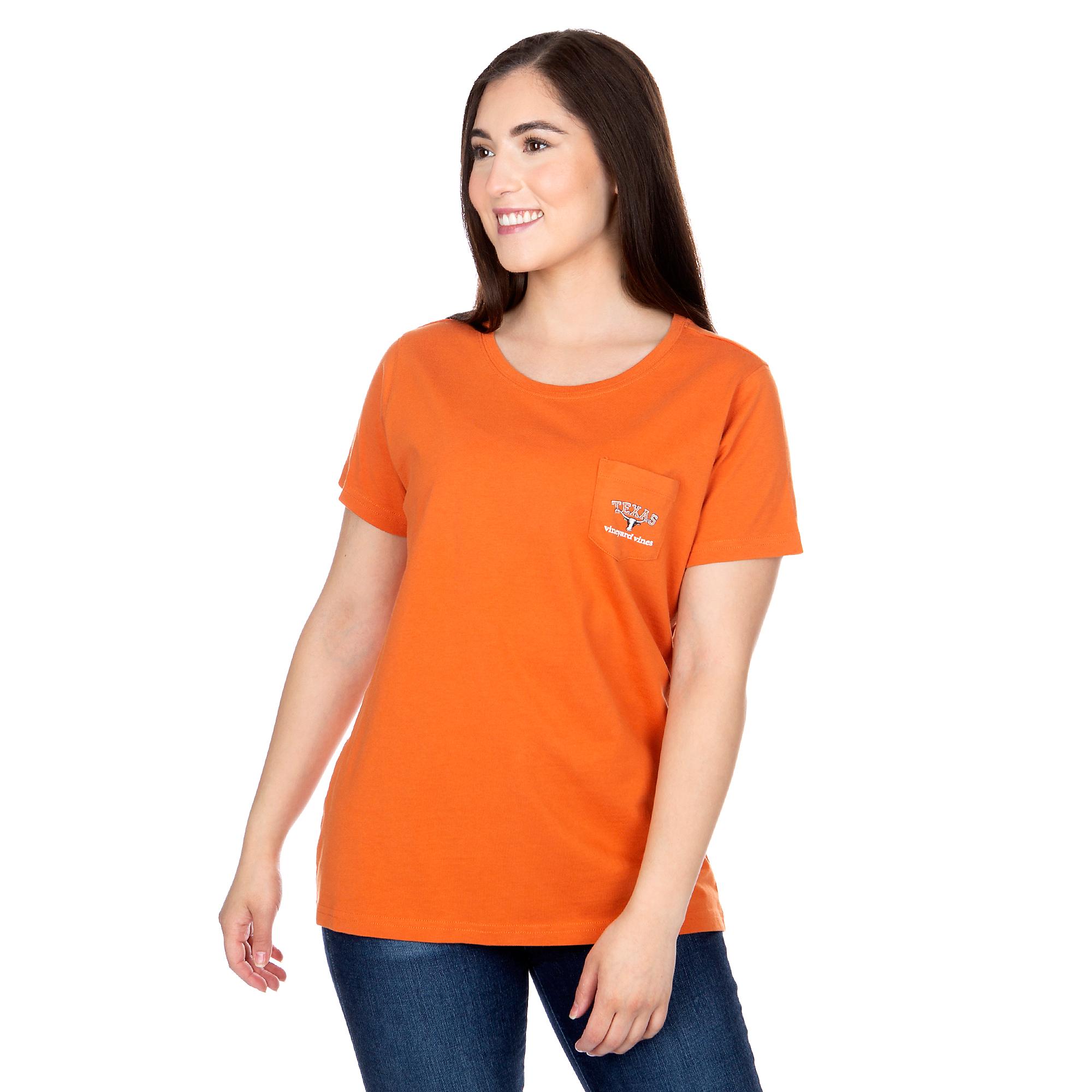 Texas Longhorns Vineyard Vines Womens State Short Sleeve T-Shirt