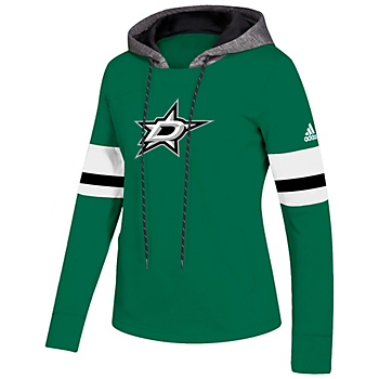 Dallas Stars Adidas Womens Finished Pullover Hoody