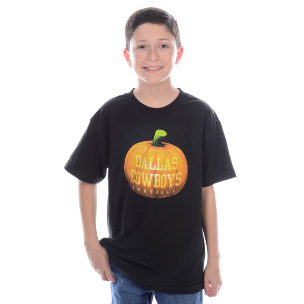 Dallas Cowboys Youth Pumpkin Tee