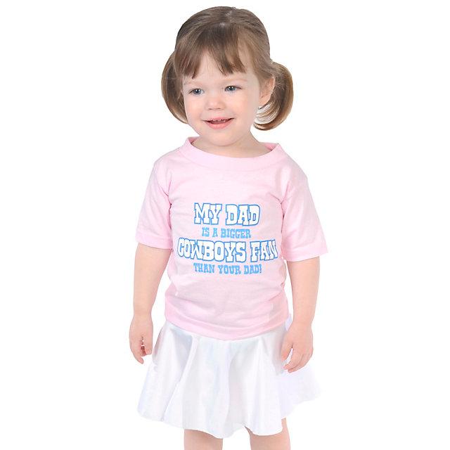 sports shoes 315cf 9eca1 pink toddler dallas cowboys jersey