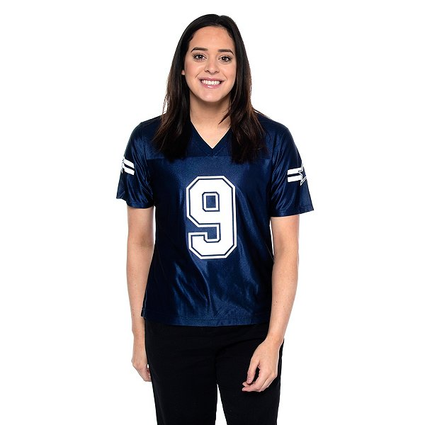 Dallas Cowboys Womens Tony Romo #9 Navy Jersey