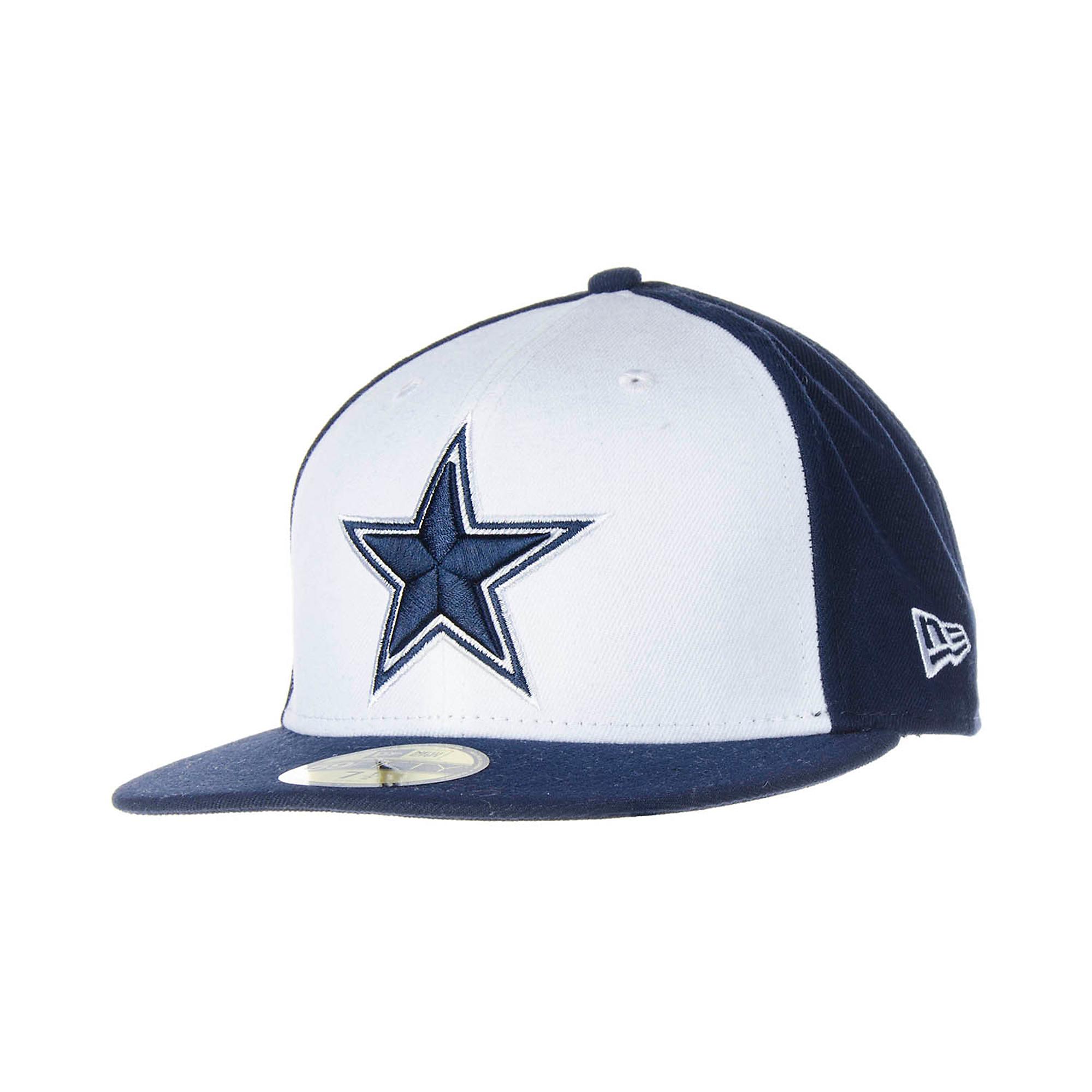 7241b32d736 Dallas Cowboys New Era 59Fifty Sideline Cap