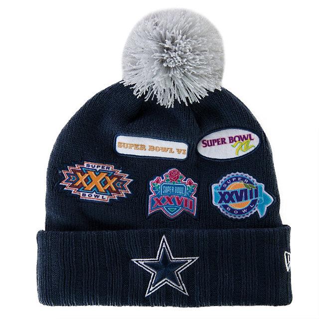 ... ireland dallas cowboys new era super bowl allover knit cap mens 5 mens  clearance cowboys catalog 34dace7bb