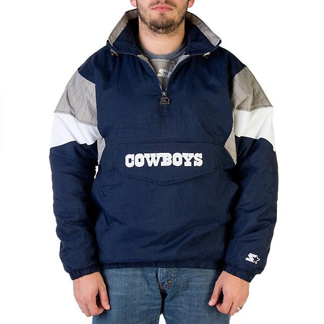Dallas Cowboys Starter 1/2 Zip Pullover Jacket