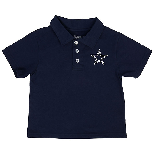 Dallas Cowboys Toddler Henry Polo Tee