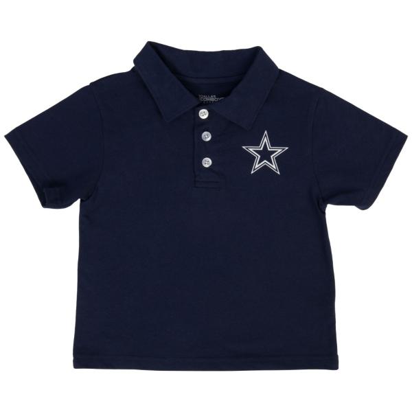 Dallas Cowboys Toddler Henry Polo Tee