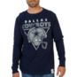 Dallas Cowboys Sanderson Long Sleeve Slub Tee