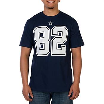 35036d34f Dallas Cowboys Jason Witten  82 Nike Player Pride Tee