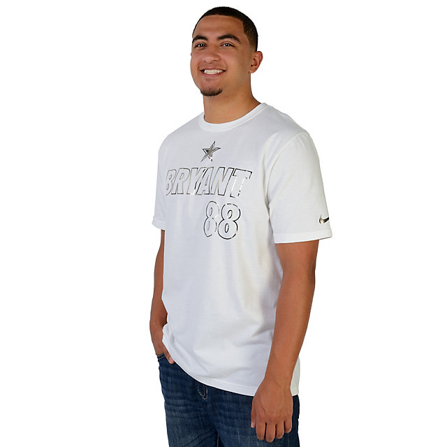 Dallas Cowboys Nike Dez Bryant #88 Platinum Player Tee