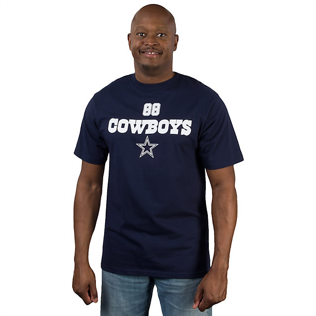 Dallas Cowboys Dez Bryant #88 Walnut Name and Number Tee