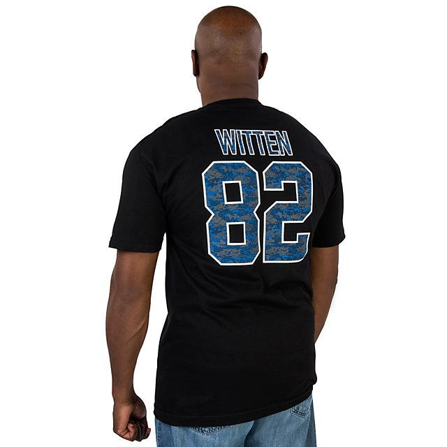 Dallas Cowboys Jason Witten #82 Player Camo Tee