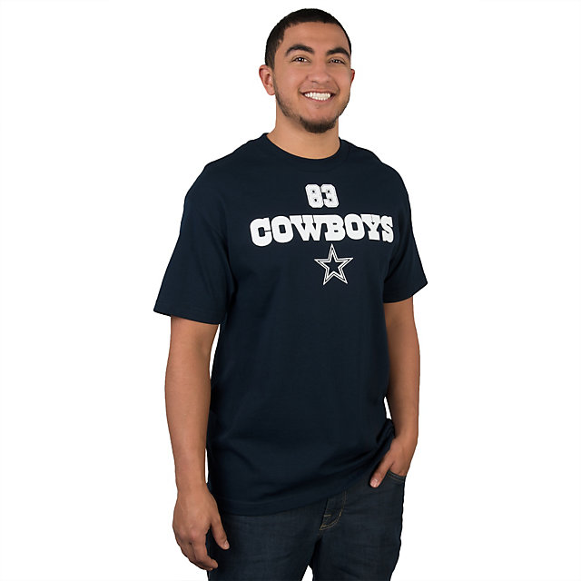Dallas Cowboys Terrance Williams #83 Walnut Name and Number Tee