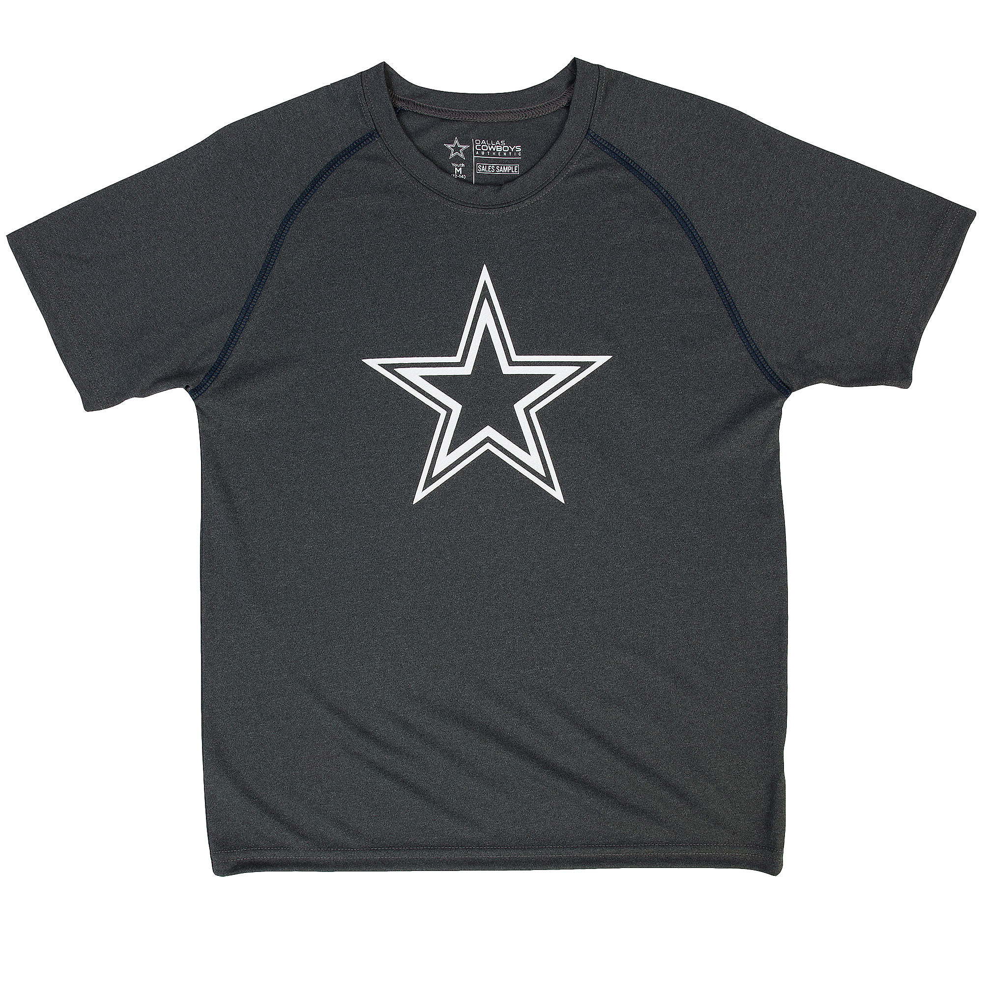 Dallas Cowboys Youth Logan Performance Tee