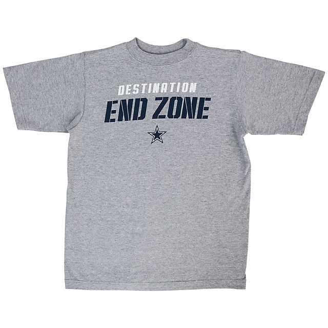 Dallas Cowboys Youth Destination End Zone Tee