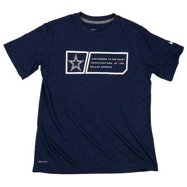 Dallas Cowboys Nike Youth Legend Jock Tag Tee