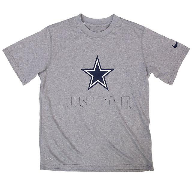 Dallas Cowboys Nike Youth Legend Just Do It Team Tee