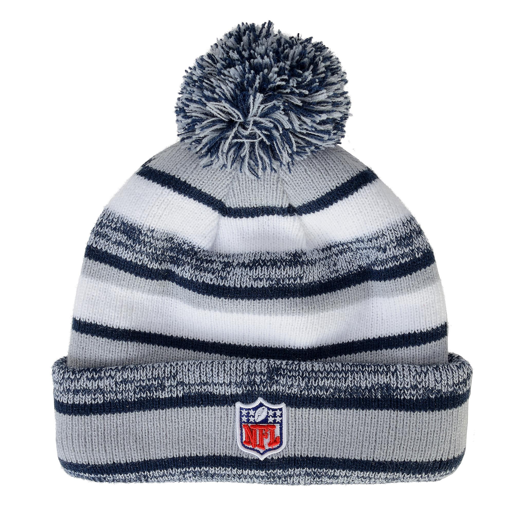 ... Dallas Cowboys New Era Sideline Sport Knit Cap ... ac32419d9