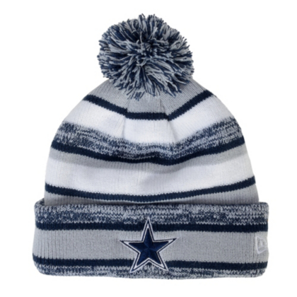 4ead020fd81 Dallas Cowboys New Era Sideline Sport Knit Cap