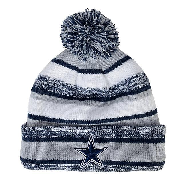 Dallas Cowboys New Era Sideline Sport Knit Cap   Cold ...