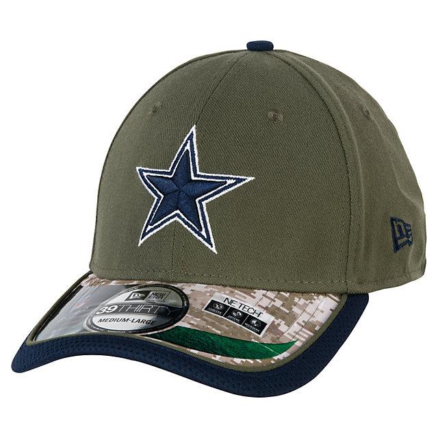 online store 72107 dc375 Dallas Cowboys New Era Salute To Service 39Thirty Cap Flex Hats Mens Cowboys  Catalog Dallas Cowboys