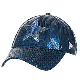 Dallas Cowboys New Era Sequin Bling 9Forty Hat