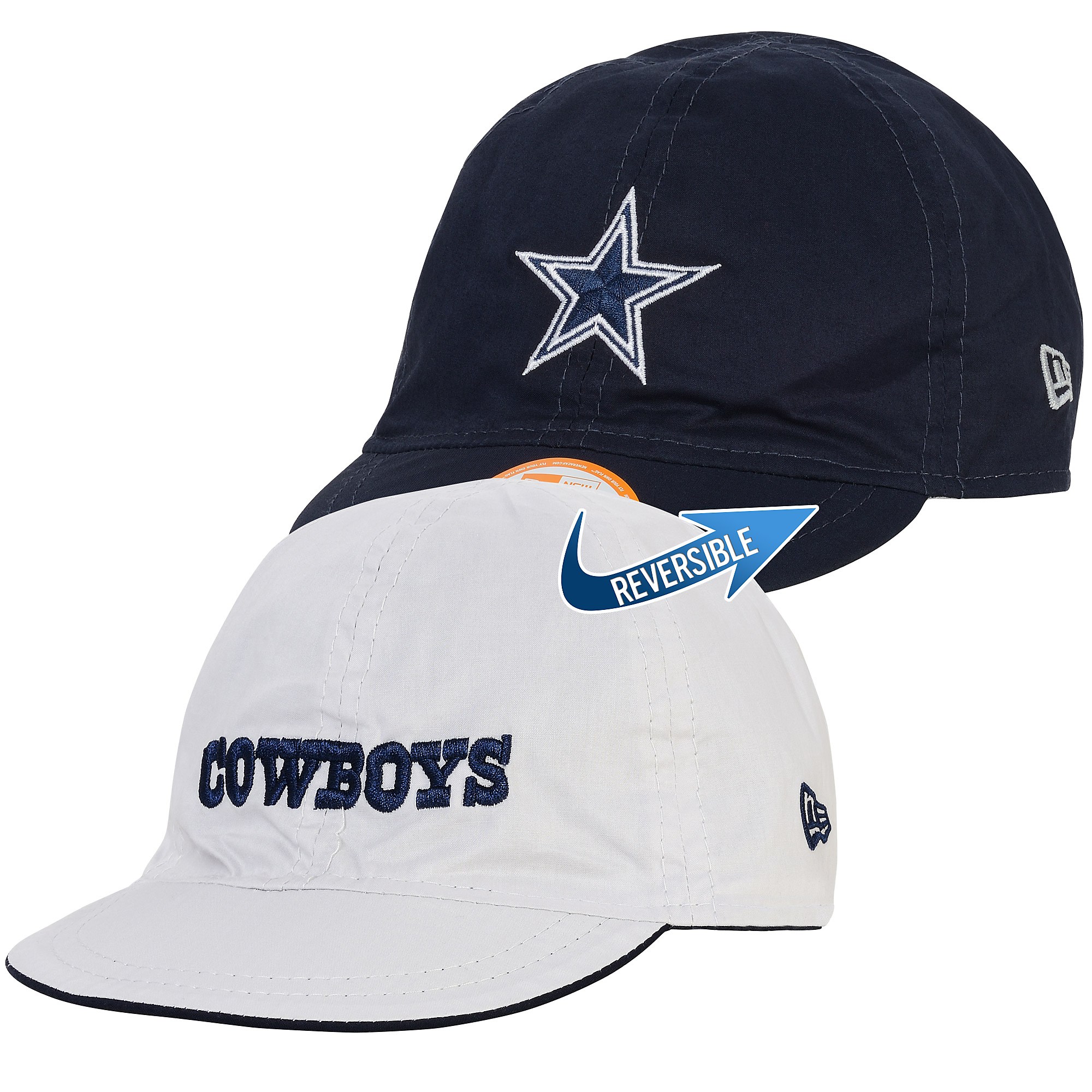 4253c0016 Dallas Cowboys New Era Reversible MVP In Training 9Twenty Cap