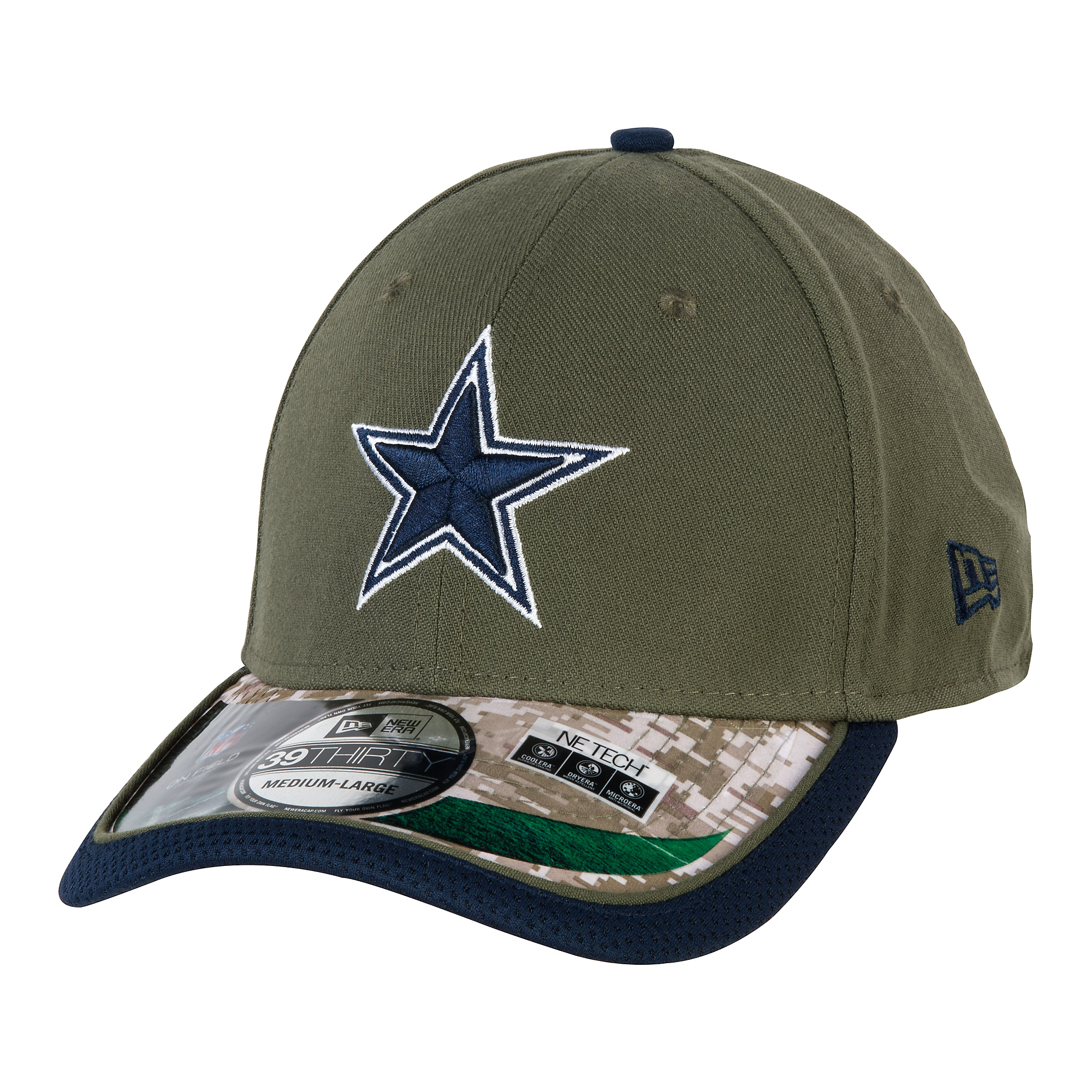the best attitude 51820 a13a7 Dallas Cowboys New Era Youth Salute To Service 39Thirty Cap