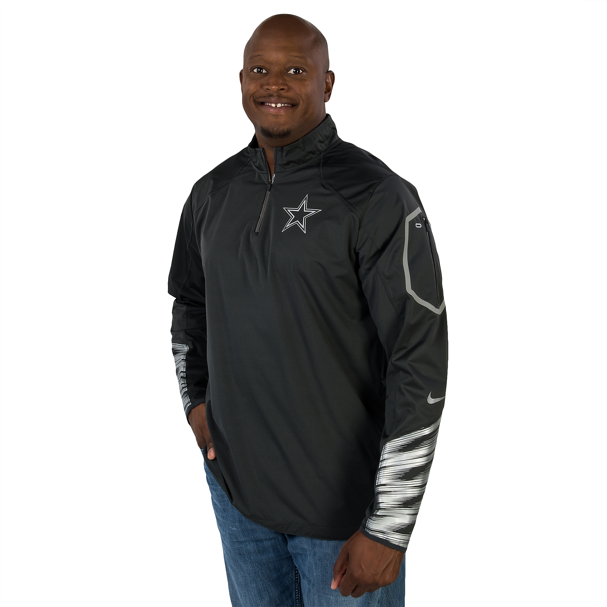 Dallas Cowboys Nike Fly Rush 2.0 Jacket  7f62d14fd