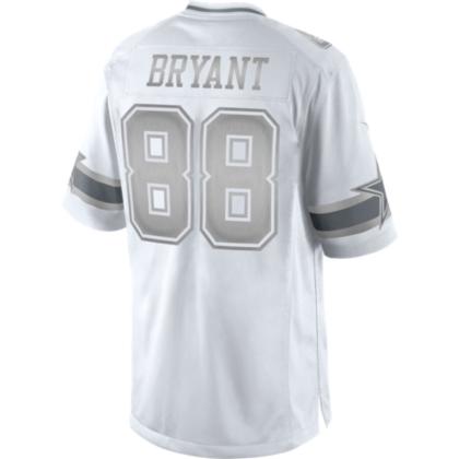 88e8eb36ee8 Dallas Cowboys Dez Bryant #88 Nike Platinum Jersey   Dallas Cowboys Pro Shop