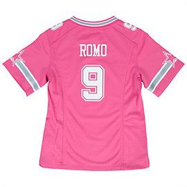 Dallas Cowboys Girls Tony Romo #9 Replica Jersey