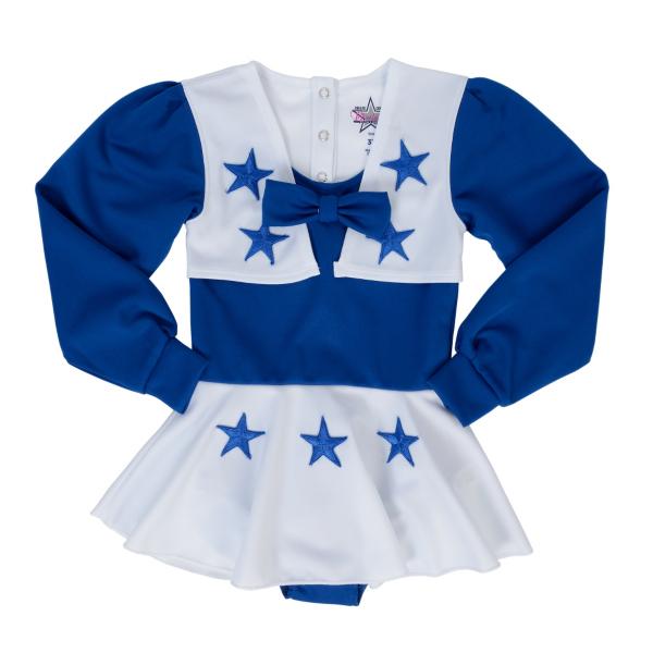 Dallas Cowboys Cheerleader Toddler Cheer Uniform