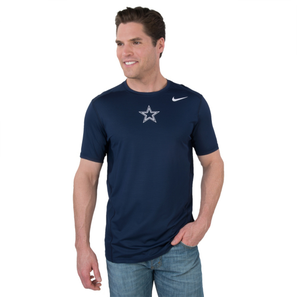 Dallas Cowboys Nike Hypercool Fitted Tee